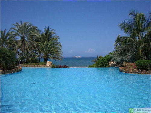 玛格丽塔岛 碧海蓝天红树林