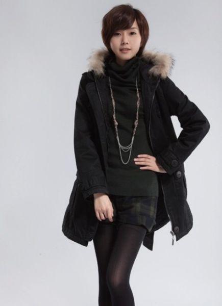 怎么 穿 衣 打扮 女生 冬季 穿 衣 搭配 图