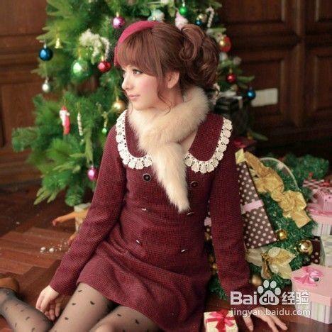 冬季甜美搭配 打造时尚淑女范儿