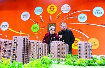 """""""上海之春""""房展会上,买卖双方都在观望、试探。 张驰"""