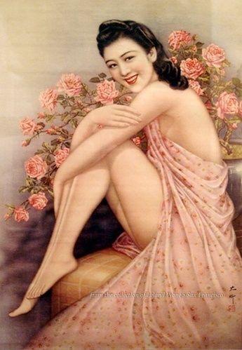 老上海海报尺度惊人艺术还是色情