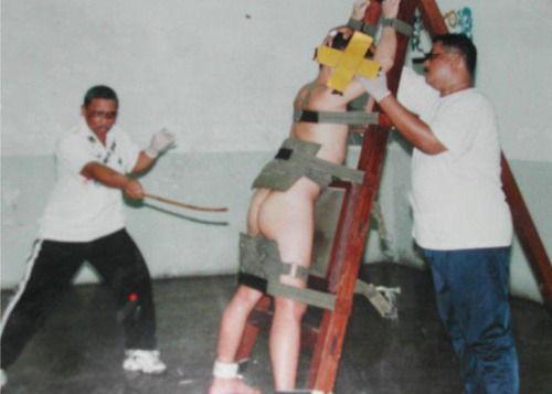 少女被继父反遭鞭刑
