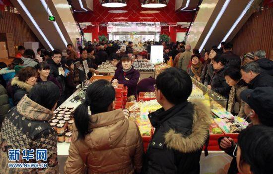 上海:春节期间消费市场持续火爆