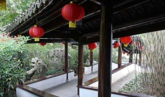 上海松江方塔园旅游之兰瑞堂