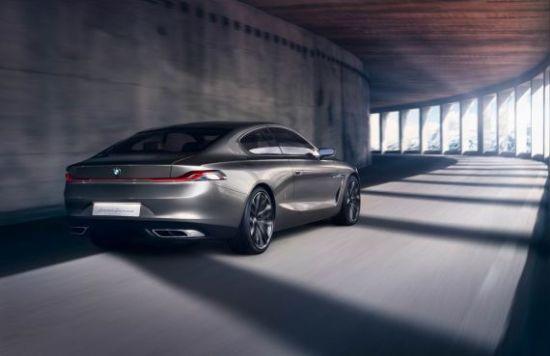 宝马推出Gran Lusso Coupe概念车
