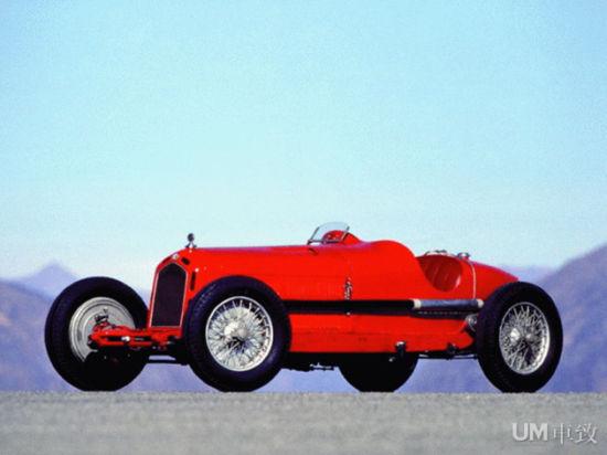 1933 阿尔法・罗密欧 8C 2300 Monza Spider Corsa