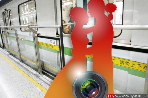 对于地铁站内拍婚纱照,上海地铁的态度是不提倡但也不禁止。本报资料图 记者 施培琦 摄 俞霞 制图