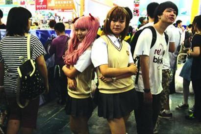 □第九届中国国际动漫展昨在沪举行/晨报记者 殷立勤