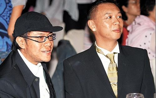 Kevin Tsai (蔡康永) with his partner