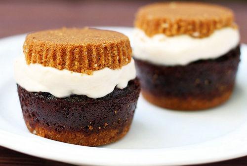 ores 杯子蛋糕冰激凌三明治-最美味的草莓冰激凌三明治等