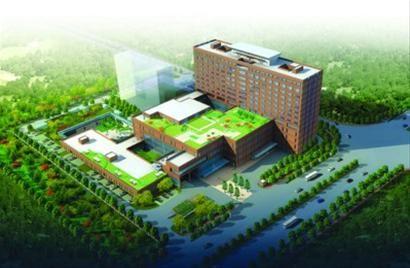 □儿童医院新院床位550张,每天门急诊量将达6000人次。
