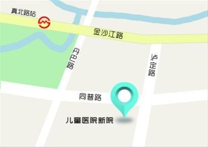 □新院位于普陀区长风生态商务区同普路和泸定路交界处 制图/王晓芬