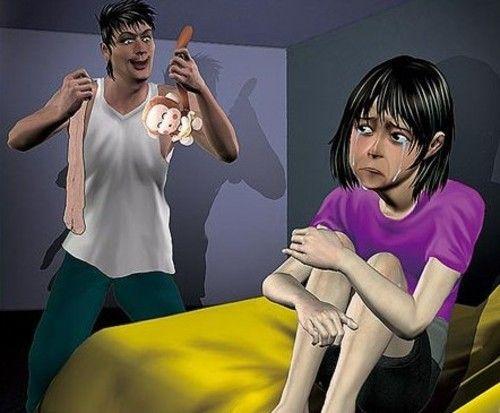 公公怀儿媳有遇为报复将其强奸 只穿内裤进门