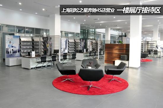 4s店整个展厅占地面积1万平方米,建筑面积近15000平方米,设计为四层