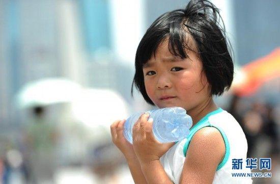 上海发布高温橙色预警