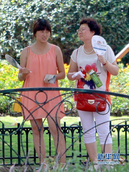 上海发今夏首个高温红色预警
