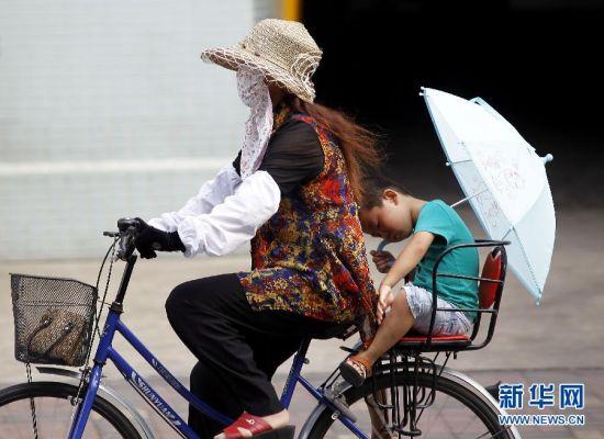 上海:高温热浪