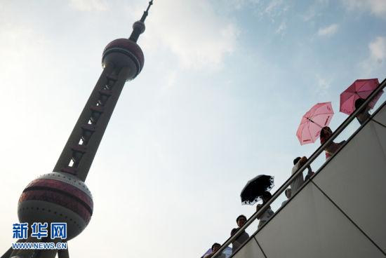 上海迎来今年入夏以来最高温