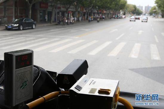 """上海公交安装""""移动电子警察"""""""