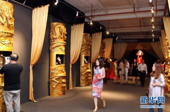 """""""千年的印记""""古董艺术珠宝展在上海举办"""