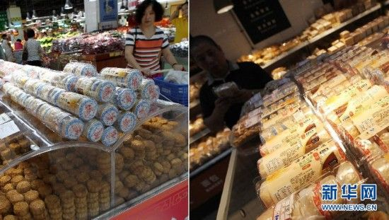 """月饼市场""""变形""""记:高价礼盒月饼遇冷"""