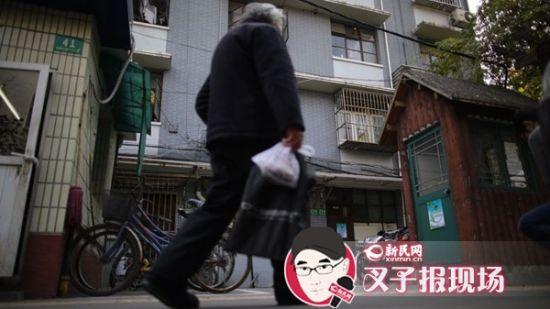案发小区。新民网 记者 萧君玮 摄