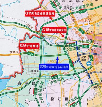 S26沪常高速公路东延伸段