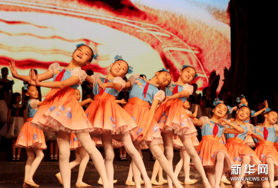中福会少年宫展示60年教育成果