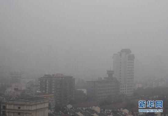 上海雾霾天气持续