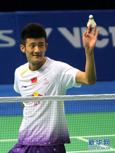 中国羽毛球公开赛:谌龙轻松晋级男单决赛