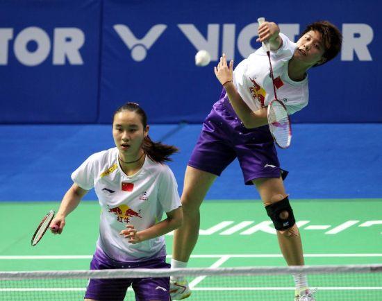 中国羽毛球公开赛:包宜鑫/钟倩欣晋级女双决赛
