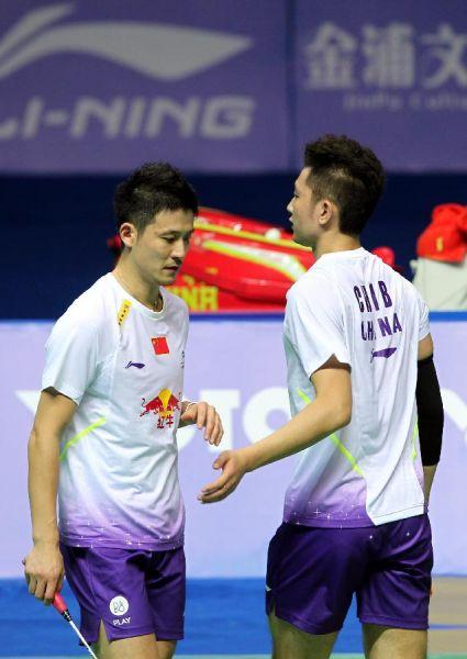 中国羽毛球公开赛:蔡赟/柴飚止步男双半决赛