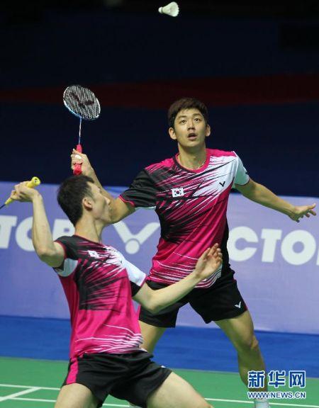 中国羽毛球公开赛:李龙大/柳延星男双夺冠