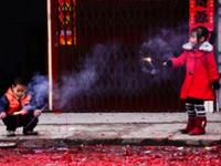 申城再现重污染 迎财神建议少放停放烟花爆竹