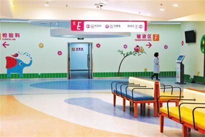 儿童医院位于北京西路的老院址依旧保留门诊