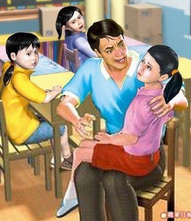 小学教师课堂讲台猥亵女学生(图)_新浪上海_新