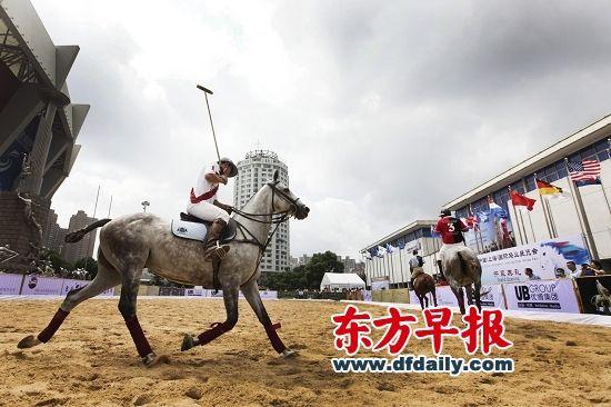 上海已成为国际马业巨头争夺的市场。图为2012年9月7日,第三届中国(上海)国际马业展览在上海揭幕。 高剑平 早报资料