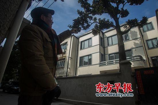 徐绍村的侄子徐祖谦作为遗嘱执行人,负责处理别墅的捐赠事项。 早报记者 杨深来 图