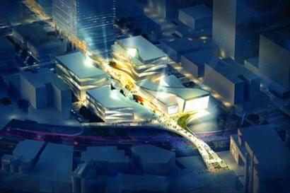 """□""""梦中心""""的一大亮点——亚洲标志性IMAX及多厅电影院效果图"""
