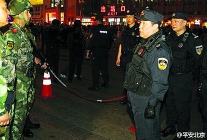 """公安部副部长傅政华 执勤民警要练就""""一枪制敌""""的本领"""