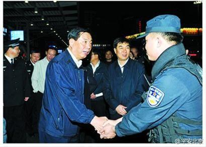 公安部副部长刘彦平 把暴力恐怖活动摧毁在行动之前