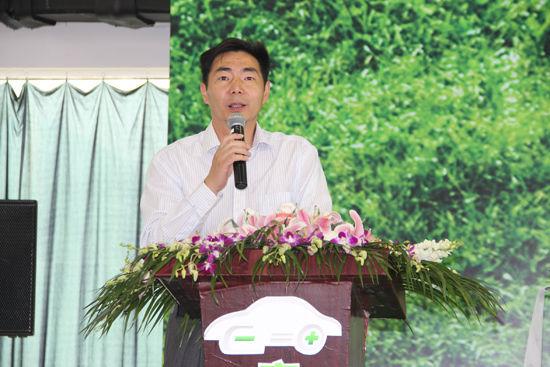上海国际汽车城总经理荣文伟先生致辞