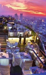 探秘世界四大酷炫屋顶餐厅