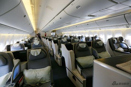 揭秘国航波音777-300ER宽体客机