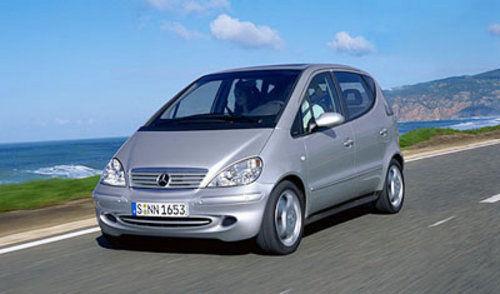 第一代奔驰A级:1998年-2004年 并未正式进口