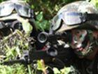 上海武警战士600米外用步枪枪枪命中靶心