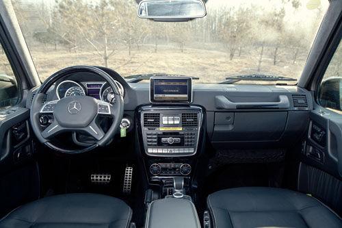评测奔驰g63 amg:内饰配置