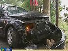 超车碰撞两车漂移甩尾致骑车女子当场身亡