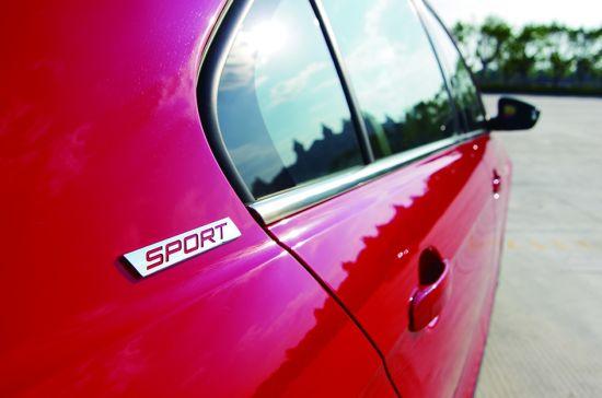 试驾一汽大众捷达sportline 外形风格