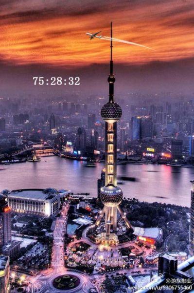第三站:东方明珠   东方明珠广播电视塔是上海的标志性文化景观之
